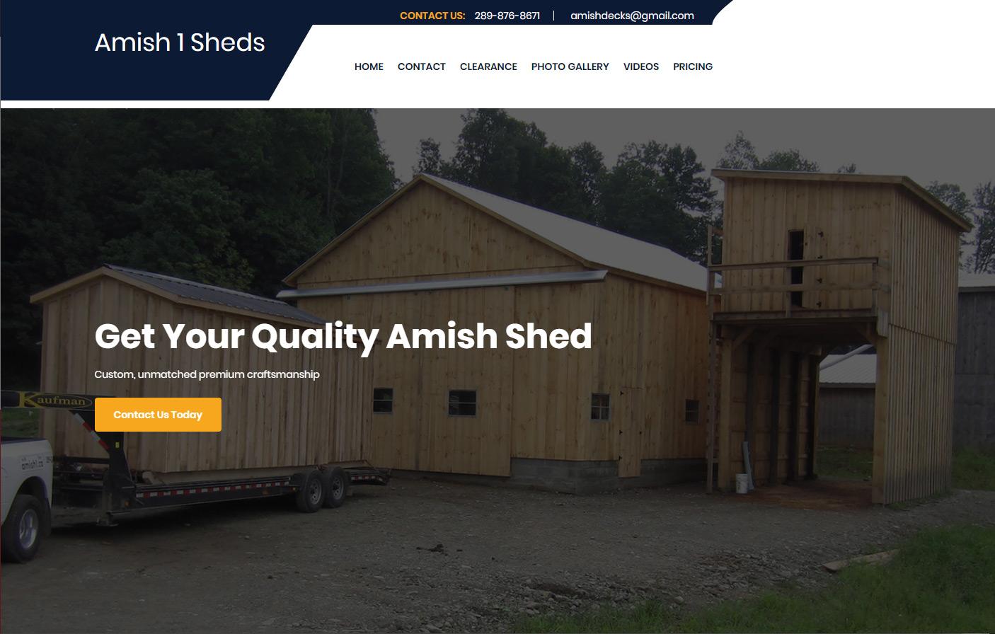 Amish 1 Sheds